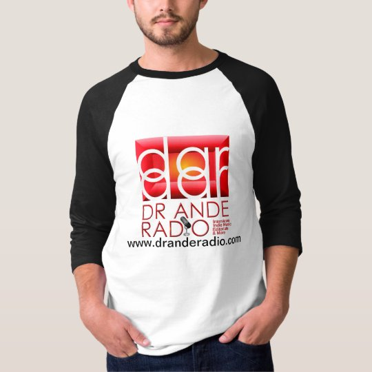 Dr. Ande Radio Baseball Jersey T-Shirt