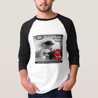Dr. Ande's Writers' Radio 3/4 Sleeve Baseball T-Shirt