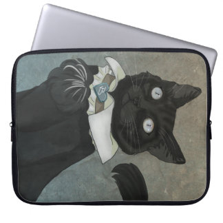 Dr. Bagheera Laptop Sleeve