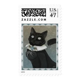Dr. Bagheera Postage Stamp