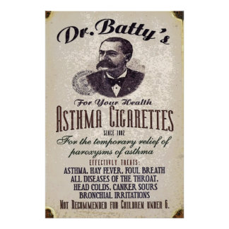 Dr. Batty Poster