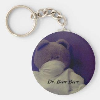 Dr. Bear Bear- keychain
