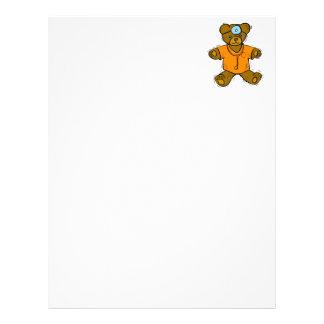 Dr Bear Personalized Letterhead