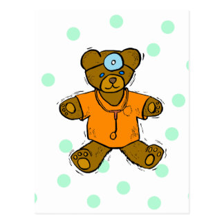 Dr Bear Postcard