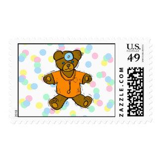 Dr Bear Stamp