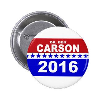 Dr. Ben Carson 2016 Pin