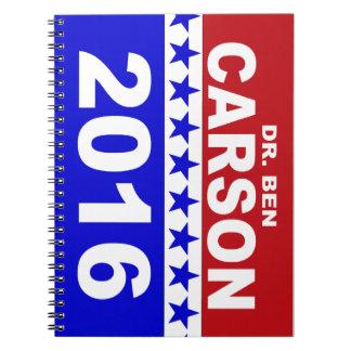 Dr. Ben Carson 2016 Note Book