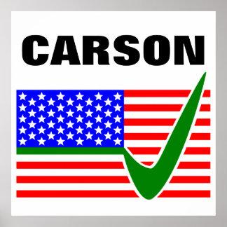 Dr. Ben Carson for President 2016 Poster