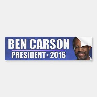 Dr. Ben Carson - President 2016 Bumper Sticker