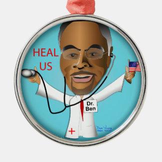 Dr. Ben Heal US Metal Ornament