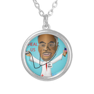 Dr. Ben Heal US Silver Plated Necklace