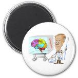 Dr Braino and the Brain Fridge Magnets