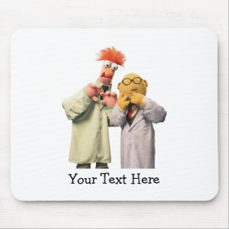 Dr. Bunsen Honeydew and Beaker 2 Mouse Pad