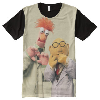 Dr. Bunsen Honeydew and Beaker All-Over-Print Shirt