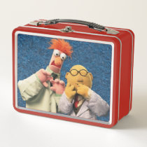 Dr. Bunsen Honeydew and Beaker Metal Lunch Box