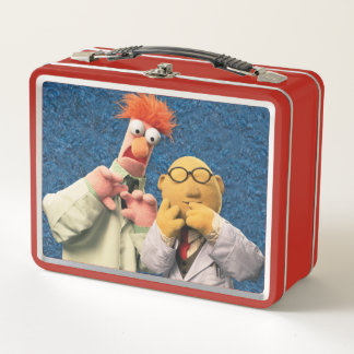 Dr. Bunsen Honeydew and Beaker Metal Lunch Box
