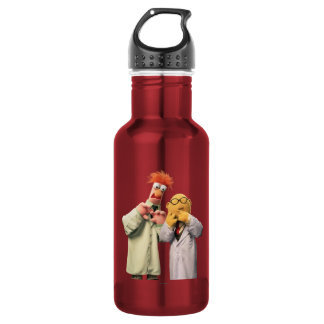 Dr. Bunsen Honeydew and Beaker Stainless Steel Water Bottle