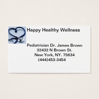 Dr Bussiness card
