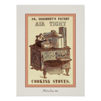 Dr. Chauncey's ~ Vintage Advertising Poster. Poster