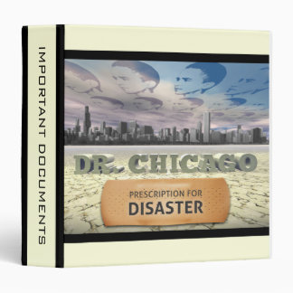 Dr. Chicago Vinyl Binder