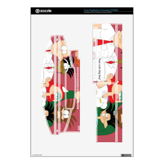 Dr.choker's playstation 3 console skin cover skin for PS3