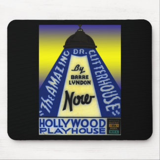 Dr. Clitterhouse Movie Mouse Pad