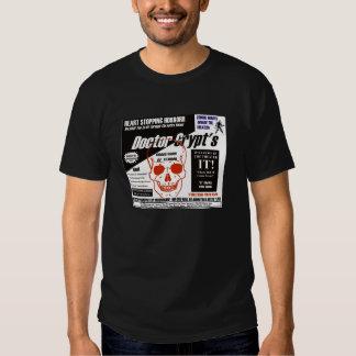 Dr. Crypt's Spook Show T Shirt
