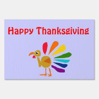 DR- Custom Turkey Thanksgiving Sign
