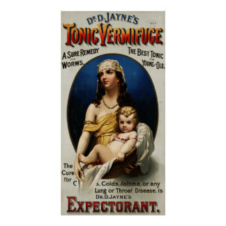 Dr. D. Jayne's Tonic Vermifuge [1889] Posters