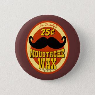 Dr. Dandy's Moustache Wax Button