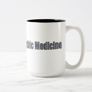 Dr de la medicina de Naturopathic Taza De Dos Tonos