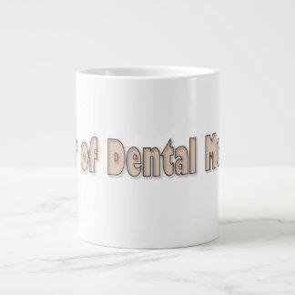 Dr de la medicina dental taza grande
