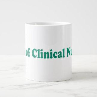 Dr de la nutrición clínica taza de café grande