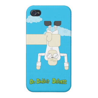 Dr. Dinkle Defeated iPhone 4 case