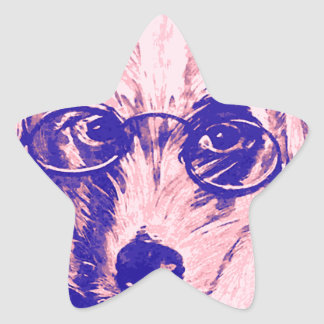 Dr. Dog Star Sticker