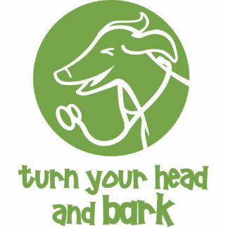 Dr. Dog Vet Sculpture- turn your head & bark Statuette
