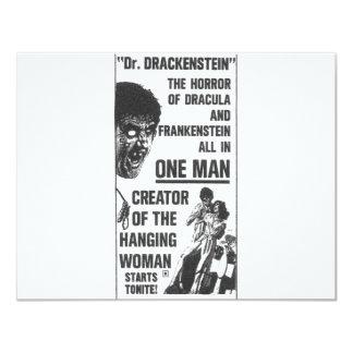 Dr Drackenstein! Card