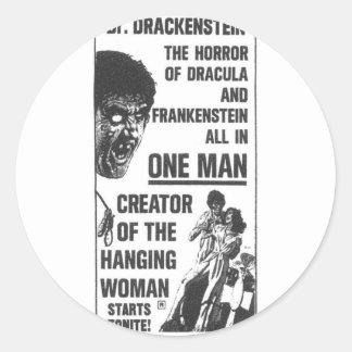 Dr Drackenstein! Classic Round Sticker