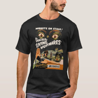 Dr Dracula's Living Nightmares Spook Show T-Shirt