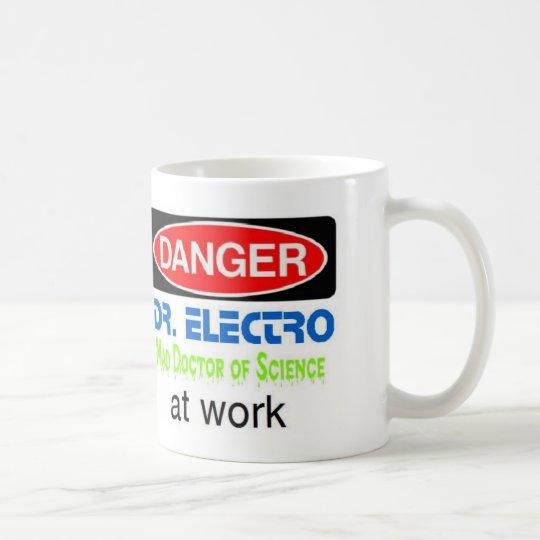 Dr. Electro at work Coffee Mug