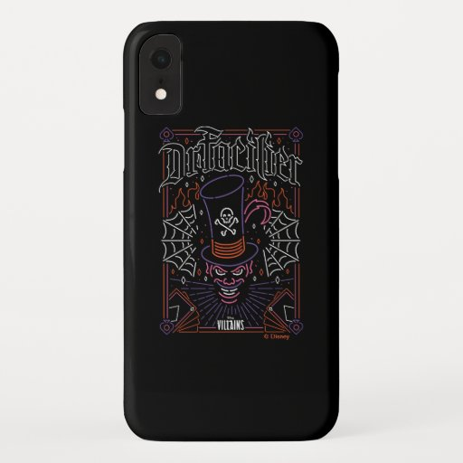 Dr. Facilier | Neon Face iPhone XR Case