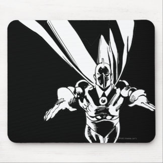 Dr. Fate Flying Outline Mouse Pad