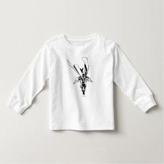 Dr. Fate Flying Outline Toddler T-shirt