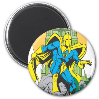 Dr. Fate & Invisible Tower 2 Inch Round Magnet