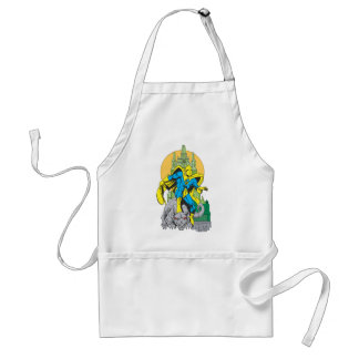 Dr. Fate & Invisible Tower Adult Apron