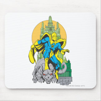 Dr. Fate & Invisible Tower Mouse Pad