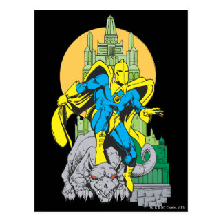 Dr. Fate & Invisible Tower Postcard