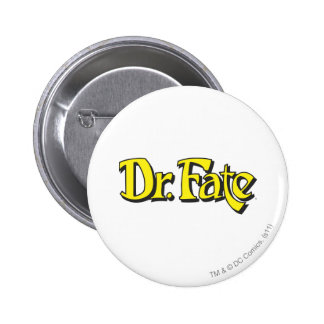 Dr. Fate Logo Pinback Button
