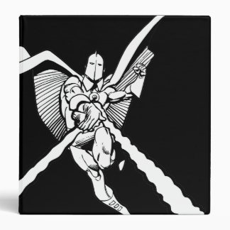 Dr. Fate Magic Outline 3 Ring Binder