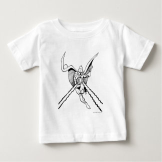 Dr. Fate Magic Outline Baby T-Shirt